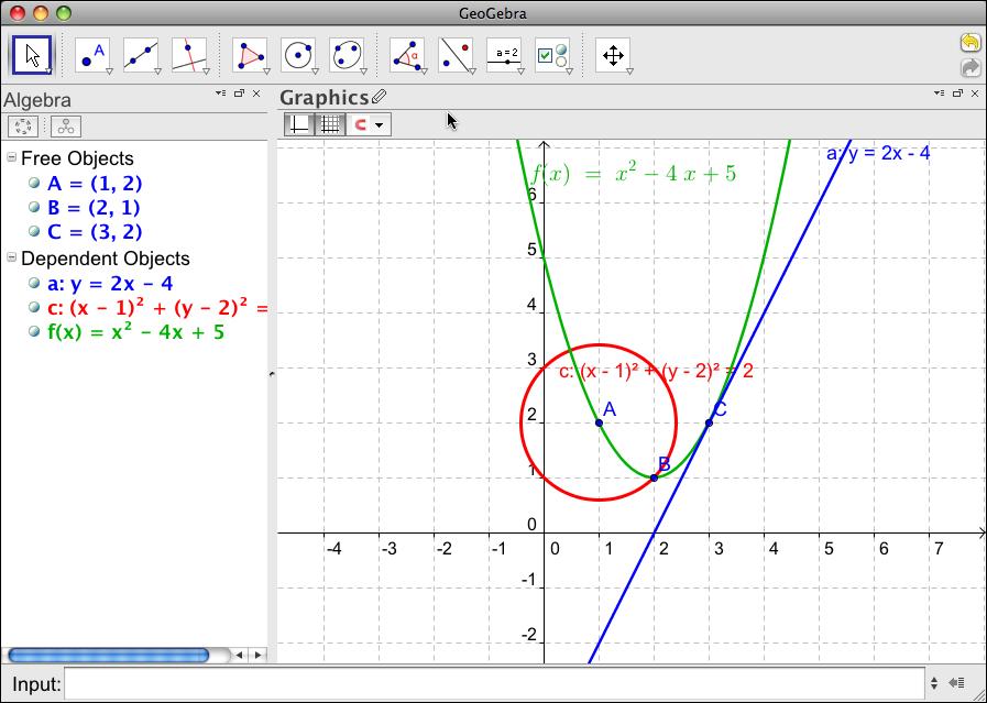 prep11geogebra / LaTex with GeoGebra